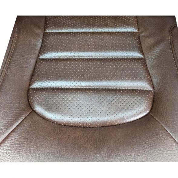 Scaun gaming Zen B149 maro,piele ecologica perforata anti transpiratie 3 (2)