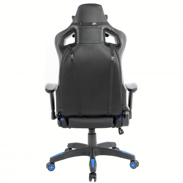 Zendeco.ro-Scaun Gaming Arka Luxury B146b negru albastru (2)