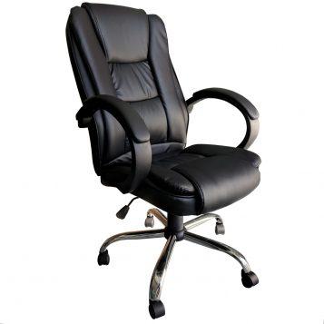 Scaun directorial B150 negru/Promotii scaune.ro