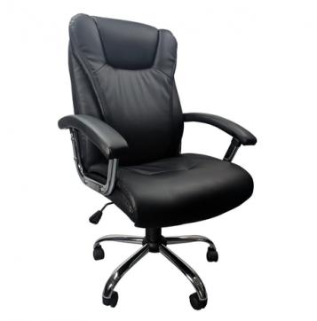 Scaun directorial B152 negru, zendeco.ro/promotii scaune.ro