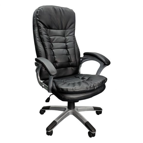 Promotii scaune.ro/Scaun directorial Skay B153, negru, piele ecologica, zendeco.ro