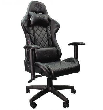 Scaun gaming Arka Aigle B52 negru/promotii scaune.ro