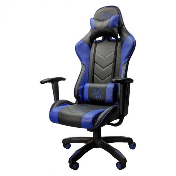 promotii scaune.ro/scaun gaming Arka Eagle B54 negru albastru(1)