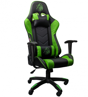 scaun gaming Arka Eagle B54 rosu negru-verde-zendeco.ro/Promotii scaune.ro