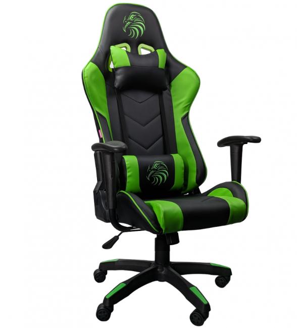 Promotii scaune.ro/scaun gaming Arka Eagle B54 rosu negru-verde-zendeco.ro