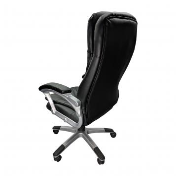 Scaun directorial Skay B153, negru, piele ecologica/Promotii scaune.ro