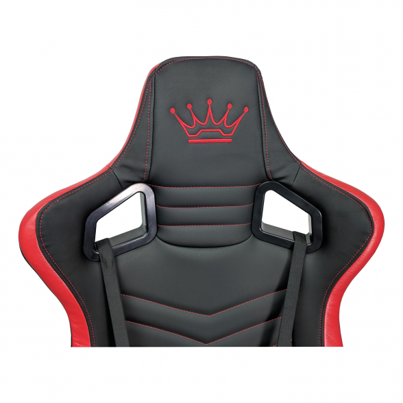 Zendeco.ro-Scaun Gaming Arka Luxury B146b negru si rosu