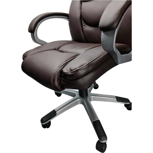 Zendeco.ro-Scaun directorial Comodo B135, brown, Spatar inalt, Confort2