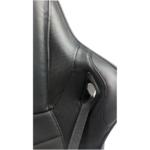Zendeco.ro-Scaun gaming Arka B147 Racing, negru, spatar reglabila piele ecologica