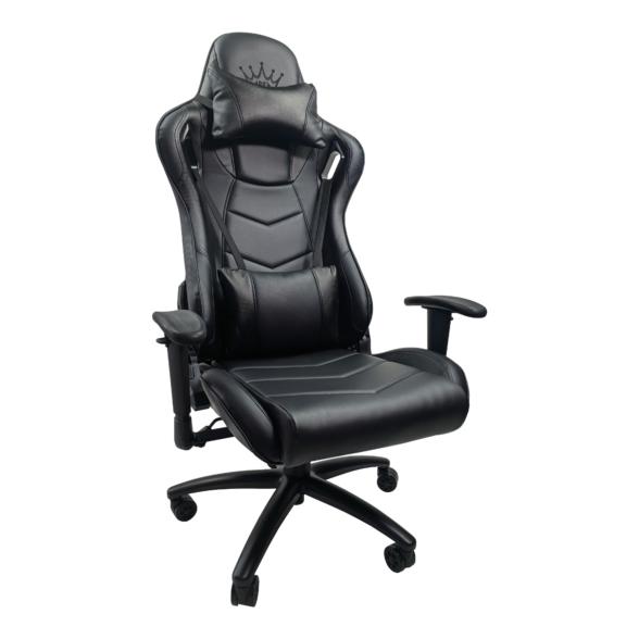 Zendeco.ro-Scaun gaming Arka Chairs B147 Racing, negru carbon, piele ecologica
