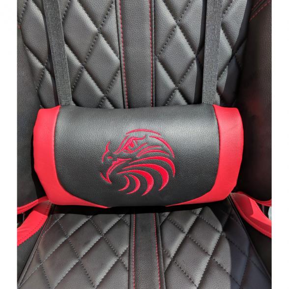 Scaun gaming Arka Aigle B52 negru-rosu (4)