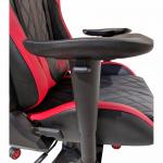Scaun gaming Arka Aigle B52 negru-rosu (7)