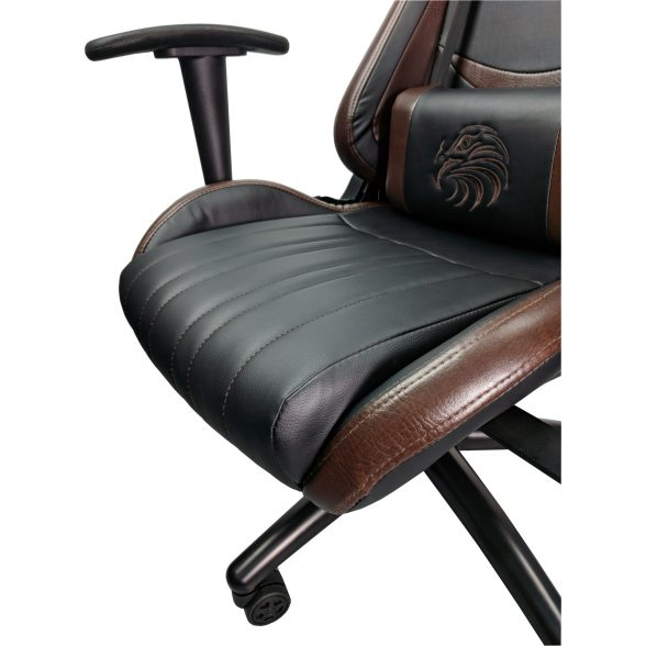 Scaun gaming Arka eagle B151, black brown-Zendeco.ro