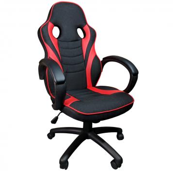 Scaun gaming Arka B99 black textil/promotii scaune.ro