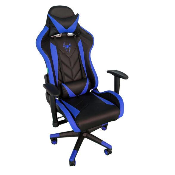 Scaun gaming Phoenix B200 Spider, Black Blue