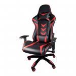 Scaune Gaming B208 Racing V6, negru si rosu, piele ecologica/Promotii scaune.ro
