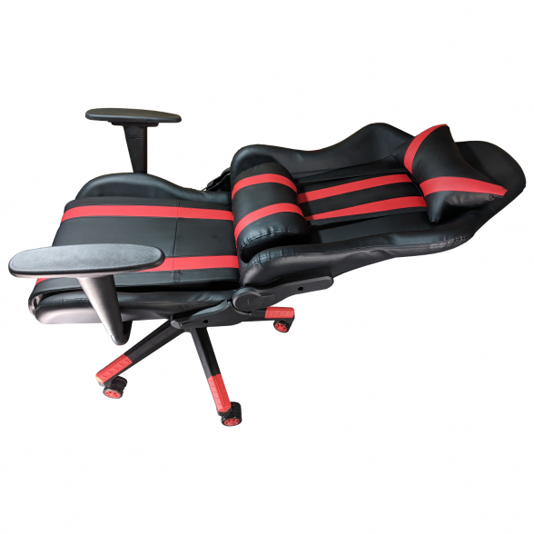 Zendeco.ro-Scaun Gaming Arka B201 V5 black red