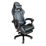 Zendeco.ro-Scaun Gaming Arka B204 SPIDER black cu suport picioare