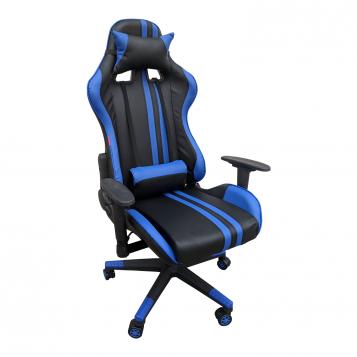 Scaun Gaming Arka B205 RACING V5 black blue/Promotii scaune.ro