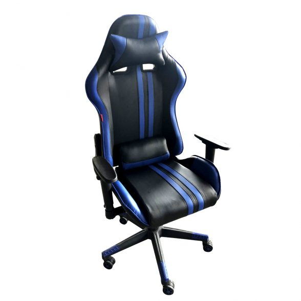 Zendeco.ro-Scaun Gaming Arka B205 RACING V5 black blue