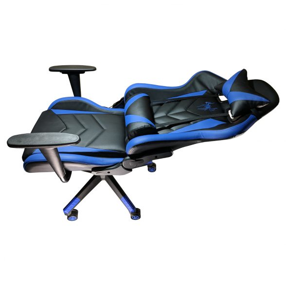 Zendeco.ro-Scaun Gaming B200 Spider black blue
