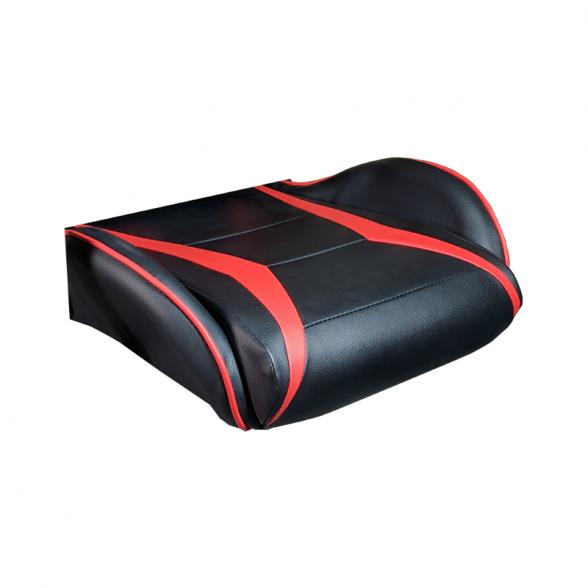 Zendeco.ro-Scaun Gaming B208 Racing V6, negru si rosu, piele ecologica