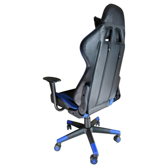 Zendeco.ro-Scaun Gaming Phoenix B200 Spider black blue