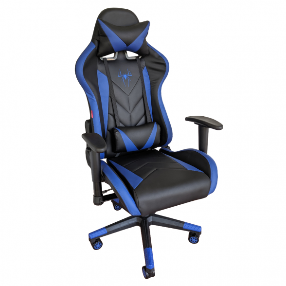 Zendeco.ro-Scaun Gaming Phoenix B200 Spider black blue
