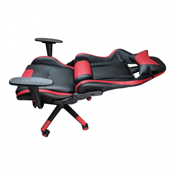 Zendeco.ro-Scaun Gaming Phoenix B203 black red, piele ecologicasi perforata
