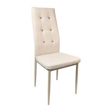 Scaun living Zen D22 diamant, crem, structura solida/Promotii scaune.ro