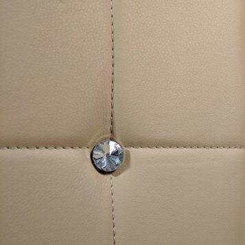 Scaun de bucatarie Zen D23 bej inchis cu diamant/Promotii scaune.ro