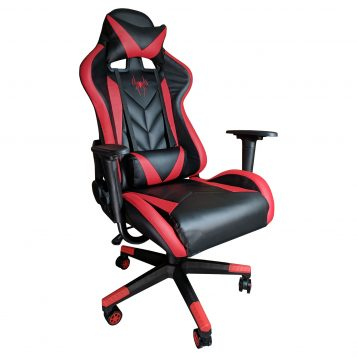 Scaun gaming Phoenix B200 Spider Negru rosu/Promotii scaune.ro