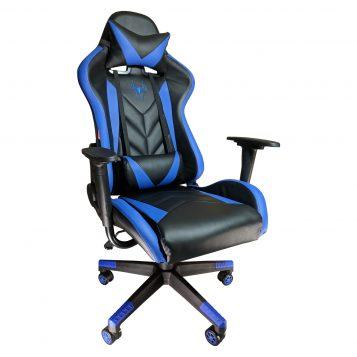 Scaun gaming Phoenix B200 Spider black blue/Promotii scaune.ro