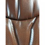 Zendeco.ro-Scaun directorial Comodo B302 brown,piele anti transpiratie perforata ecologica