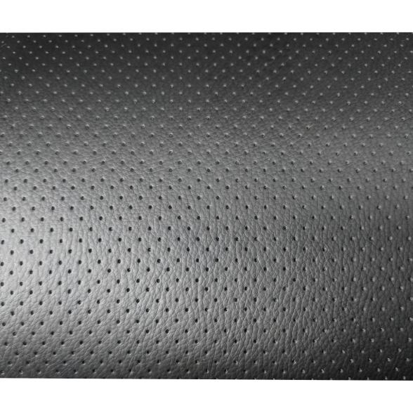 Scaun ergonomic Arka B18 black, piele anti transpiratie perforata ecologica-Zendeco.ro