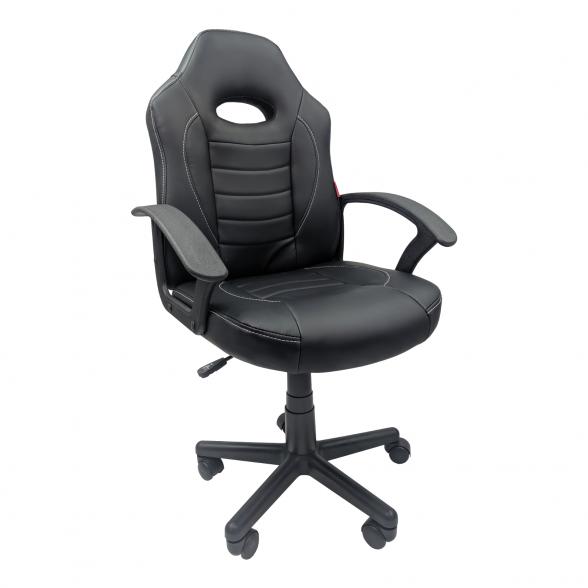 Scaun birou B11 negru pentru copii-Zendeco.ro