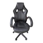 Zendeco.ro-Scaun gaming Arka B211 Black, piele ecologica