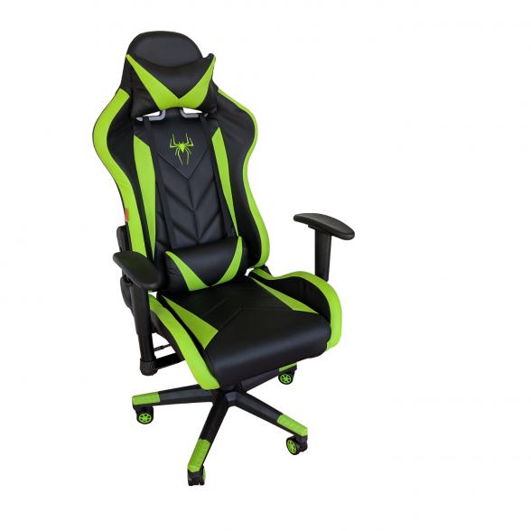 Zendeco.ro-Scaun Gaming Arka B200 SPIDER black green