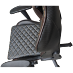 Scaun gaming Arka Chairs B60 black brown, piele ecologica-Zendeco.ro1