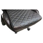 Scaun gaming Arka Chairs B60 black brown, piele ecologica-Zendeco.ro3