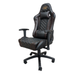 Scaun gaming Arka Chairs B60 black brown, piele ecologica