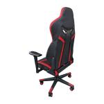 Scaun gaming Arka Chairs B58 black red, piele ecologica, spate-Zendeco.ro