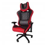 Zendeco.ro-Scaun Gaming B6 Spider black red,piele ecologica
