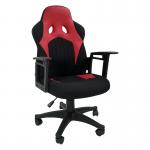 Zendeco.ro-Scaun gaming B12 textil negru rosu