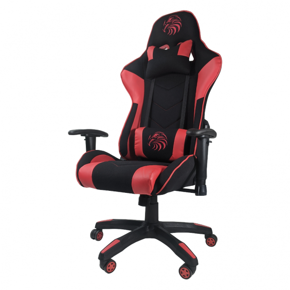Zendeco.ro-Scaun gaming B54 Eagle black red textil.png