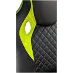 Zendeco.ro-Scaun gaming B107 green, piele ecologica si Mesh (copie)
