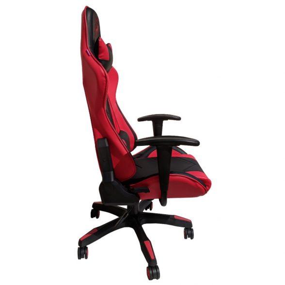 Zendeco.ro-scaun gaming Arka Eagle B54 negru rosu