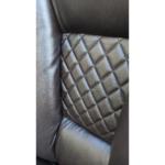 Zendeco.ro-Scaun directorial Arka B67 Allbrown cu suport picioare, piele ecologica1