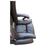 Zendeco.ro-Scaun directorial Arka B67 Allbrown cu suport picioare, piele ecologica2