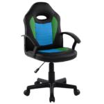 Scaun birou B11 black blue pentru copii-Zendeco.ro